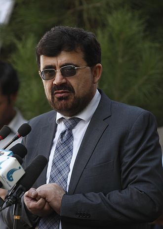 Zarar Ahmad Osmani - Osmani, as Afghan Minister of Counter Narcotics, speaking in October 2011