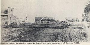 Osseo, Minnesota - Osseo in 1869