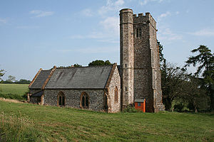 Otterford - Image: Otterford church