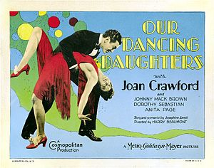Our Dancing Daughters - lobby card