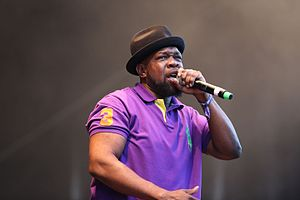Jeru the Damaja - At the Out4Fame-Festival 2016 in Hünxe