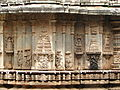 Outer wall of mantapa (hall) in Brahmeshvara Temple at Kikkeri.JPG