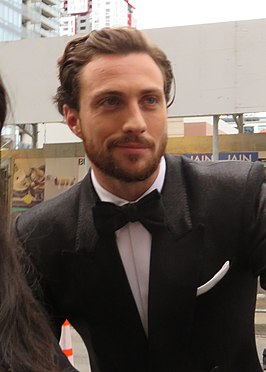 Aaron Taylor-Johnson (TIFF in 2018)