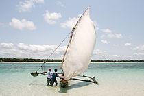 Outrigger canoe in Kenya.jpg