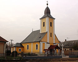 Pátyod, Saint Stephen of Hungary church 02.JPG