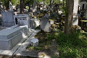 César Berthier - Tomb at the Père Lachaise Cemetery