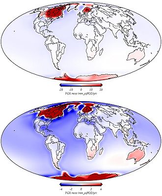 Post-glacial rebound - Wikipedia, the free encyclopedia