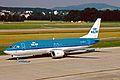 PH-BDR B737-406 KLM ZRH 19JUN03 (8536533296).jpg