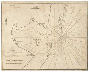 Island of Mozambique - Image: PRIOR(1819) Chart of the Harbour of Mozambique