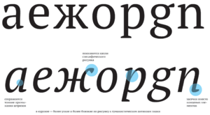 PT Fonts - Image: PT Serif features 2