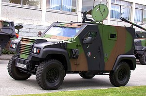 English: PVP (Small protected vehicle) Françai...