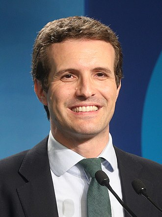 Leader of the Opposition (Spain) - Image: Pablo Casado (julio 2018) (cropped 2)
