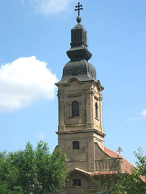 Padej - The Orthodox church.