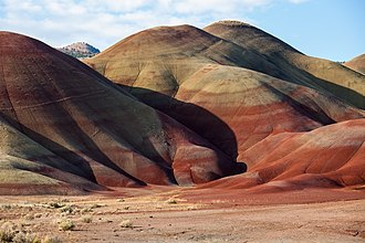 Painted Hills - Image: Painted Hills 2009.08.13.11.08.52