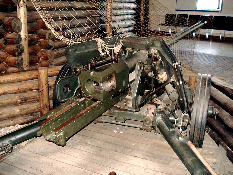 German 50 Mm Anti Tank Gun: File:Pak40 Helsinki Rear.jpg