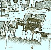 A detail from John Rocque's 1746 map of London