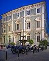 Palazzo Martinengo Colleoni di Malpaga facciata notte Brescia.jpg