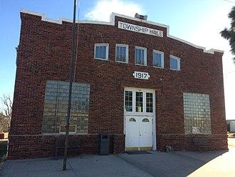 Palco, Kansas - Township Hall (2016)