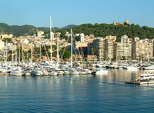 Bay of Palma - Harbour of Palma, located within the bay.