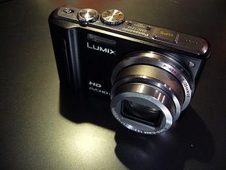 Panasonic Lumix DMC-TZ10 - Image: Panasonic Lumix DMC TZ10