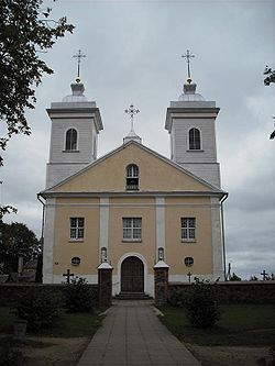 The church of Pandėlys
