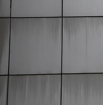 Panel edge staining - Panel edge staining