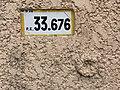 Panonceau PK 33,676 Route D28 Grande Rue St André Bâgé 1.jpg