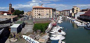 Panorama Venezia Nuova, Livorno