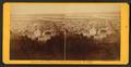 Panoramic view of Dubuque from the Bluff head of 11th St.-- No. 4 East, by Root, Samuel, 1819-1889.png