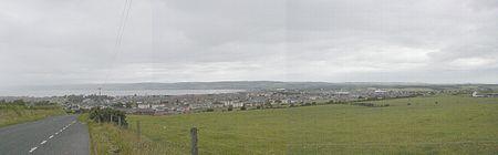 Stranraer, as viewed from Gallowhill