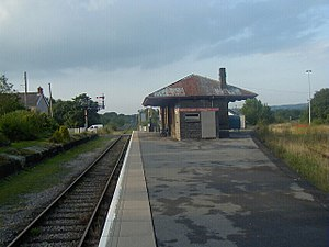 Heart of Wales line - Pantyffynnon railway station