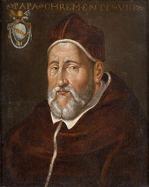 Pope Clement VIII - Image: Papst Clemens VIII Italian 17th century