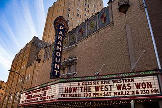 Paramount Theatre (Abilene, Texas) - Image: Paramount Theater 1 (1 of 1)