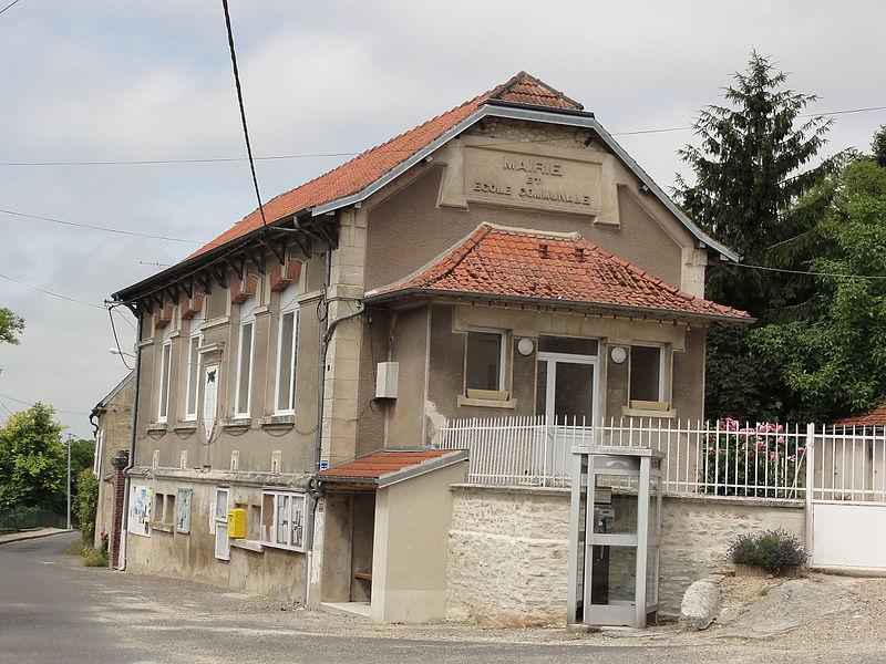 Pargnan (Aisne) mairie-école