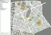 Mappa dell'arrondissement
