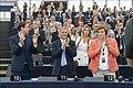 Parliament elects Ursula von der Leyen as first female Commission President (48300815521).jpg