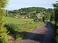 Passing place, lane to Haccombe - geograph.org.uk - 824884.jpg