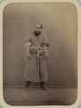 Pastimes of Central Asians. A Maskhara-bāz, or Entertainer, Making Fun of a Cleric WDL10820.png