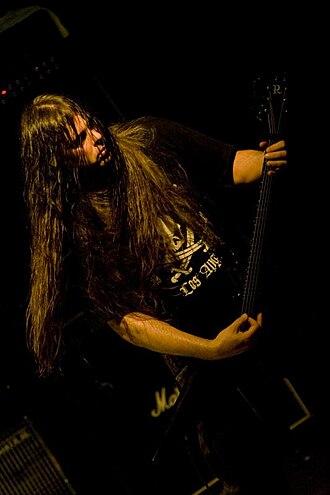 Pat O'Brien (guitarist) - Image: Pat O'Brien of Cannibal Corpse