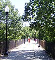 Pathway over arched bridge Ossining.jpg