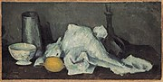 Paul Cézanne - Milk-Jug and Lemon - Rosengart collection.jpg