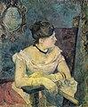 Paul Gauguin - Madame Mette Gauguin in Evening Dress - Fru Mette Gauguin - Nasjonalmuseet - NG.M.00771.jpg