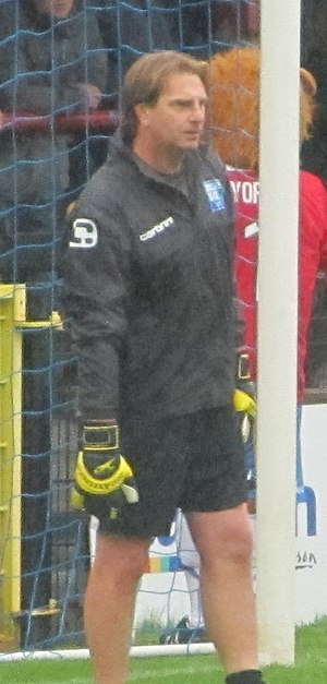 Paul Musselwhite - Musselwhite with York City in 2011