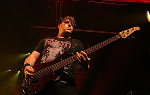 Paul Thomas (bassist) - Thomas in 2008