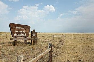 Pawnee National Grassland - Image: Pawnee National Grassland