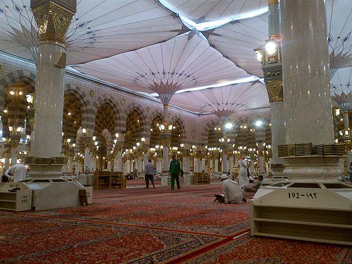 Payung Tengah Masjid Nabawi