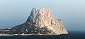Peñón de Ifach seen from Toix.jpg