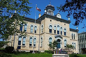Peel Art Gallery, Museum and Archives - One of the PAMA buildings, formerly the Peel County Court House