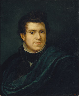 Pelegrí Clavé - Self-portrait (1835)