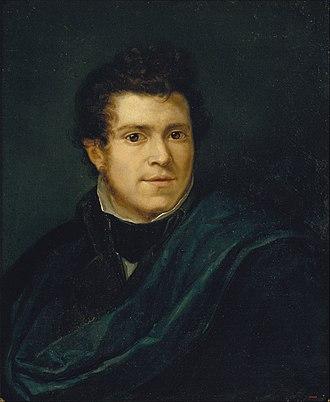 Pelegrí Clavé - Self-portrait (1835)